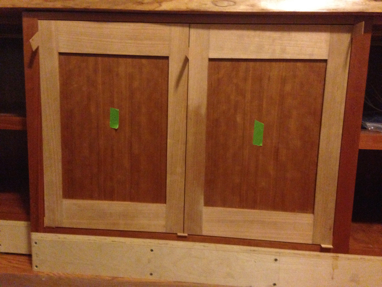 rough fitted doors