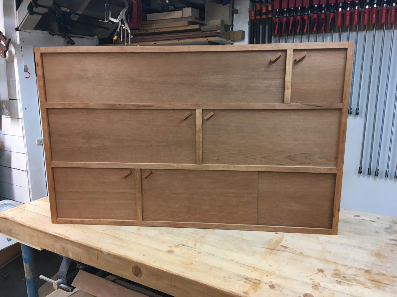 Completed Cabinet